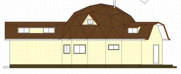 ドームハウス計画図
