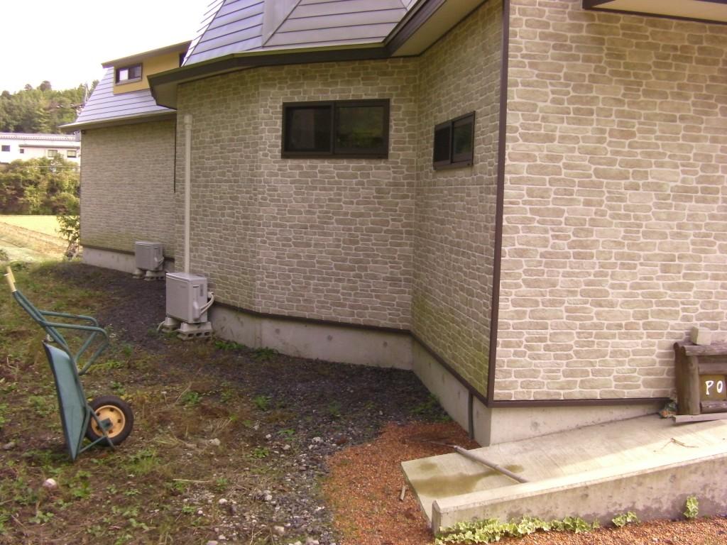 外壁2012年10月